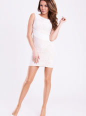 EMAMODA DRESS - WHITE 12011-2