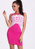 EMAMODA DRESS - Fuchsia 17004-2